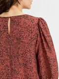 Selected PLEATED VOLUMINOUS SLEEVES TOP, Chili Oil, highres - 16081202_ChiliOil_881697_006.jpg