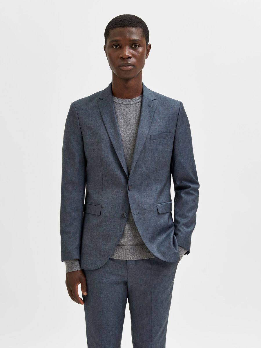 Selected SINGLE BREASTED BLAZER, Blue Ashes, highres - 16080714_BlueAshes_003.jpg