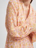 Selected RECYCLED POLYESTER FLORAL PRINT DRESS, Opera Mauve, highres - 16078101_OperaMauve_826155_006.jpg