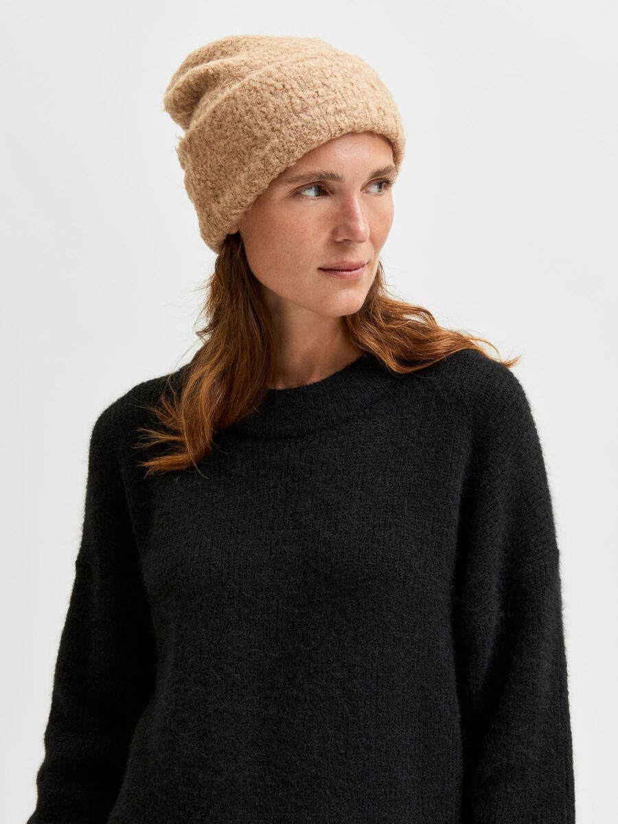Selected KNITTED BEANIE, Amphora, highres - 16080992_Amphora_877848_003.jpg