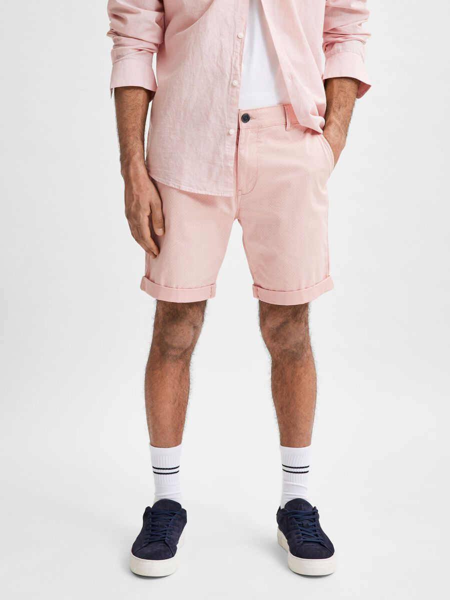 Selected STRAIGHT FIT - CHINO SHORTS, Mellow Rose, highres - 16067683_MellowRose_734967_003.jpg
