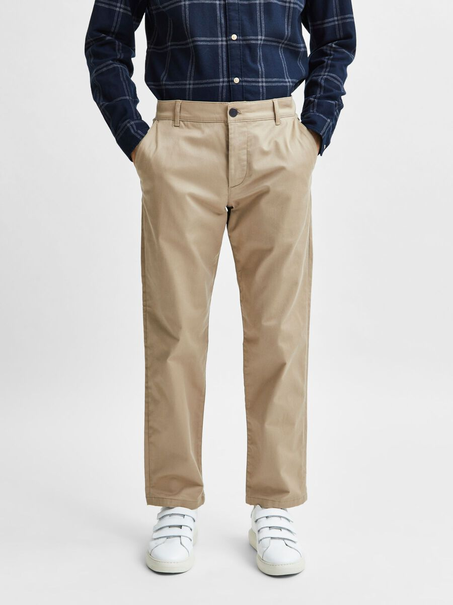 Selected STRAIGHT FIT 196 TROUSERS, Chinchilla, highres - 16080157_Chinchilla_003.jpg