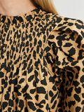 Selected LEOPARD PRINT SMOCK DETAIL DRESS, Croissant, highres - 16081421_Croissant_886005_006.jpg