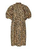 Selected LEOPARD PRINT SMOCK DETAIL DRESS, Croissant, highres - 16081421_Croissant_886005_001.jpg