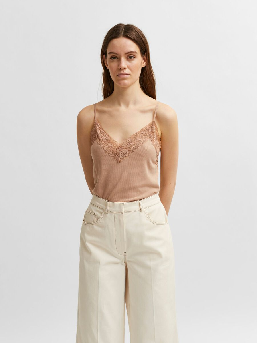 Selected LACE - STRAP TOP, Nomad, highres - 16057357_Nomad_003.jpg