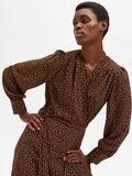 Selected PRINTED WRAP DRESS, Coffee Bean, highres - 16080887_CoffeeBean_881354_008.jpg