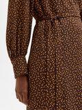 Selected PRINTED WRAP DRESS, Coffee Bean, highres - 16080887_CoffeeBean_881354_006.jpg