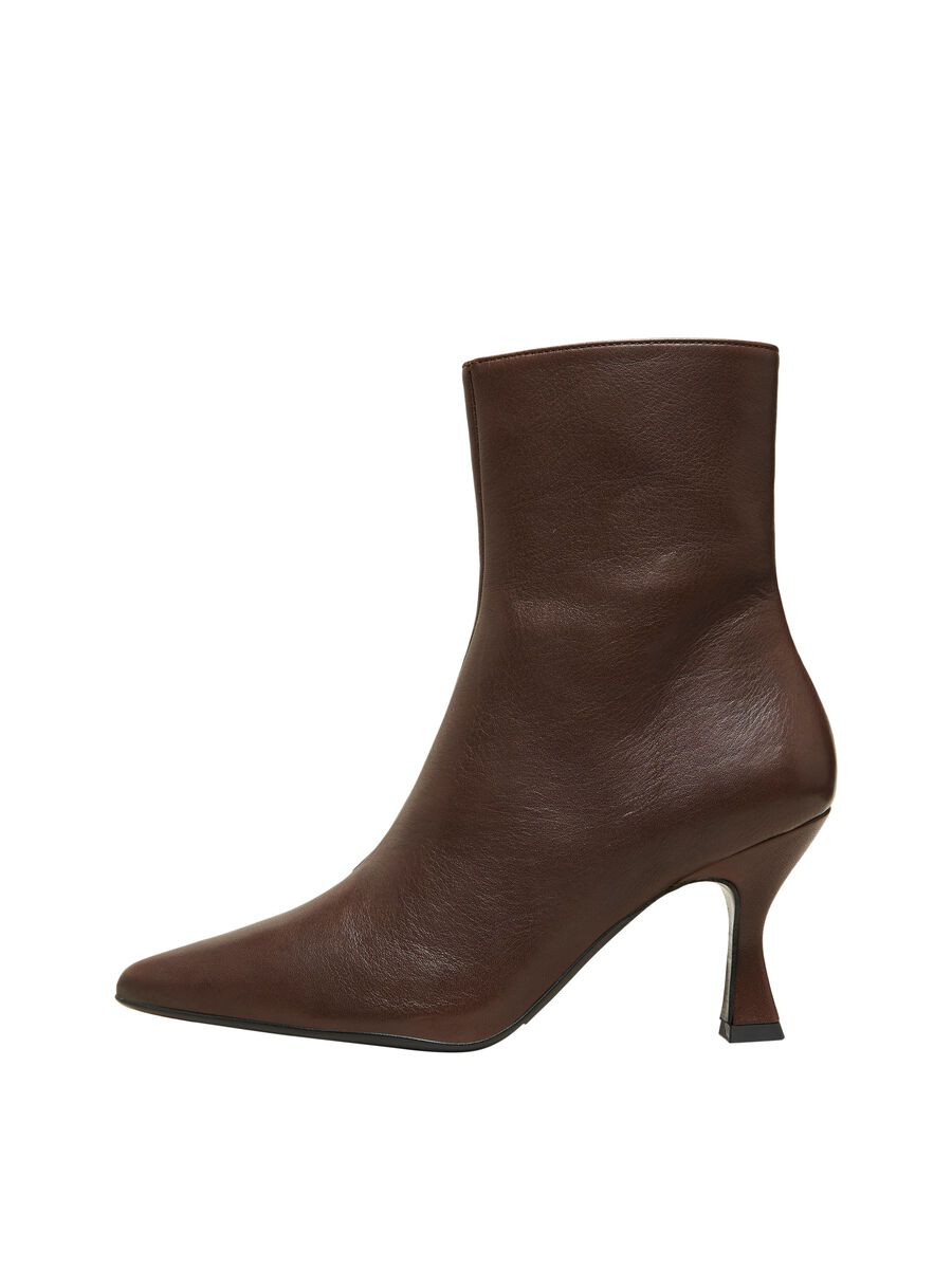 Selected HEELED LEATHER BOOTS, Carafe, highres - 16081314_Carafe_001.jpg